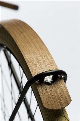 Dutch Bike Wooden fenders