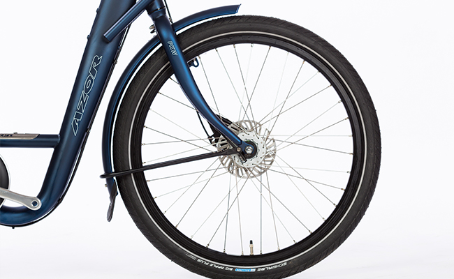 Azor_Cycle_Truck_Matte_Blue_Front_Wheel