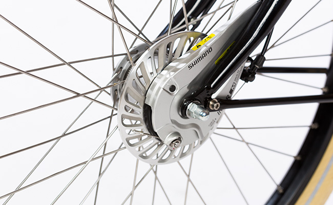 Azor_Freight_Heavy_Duty_Gloss_Black_Shimano_IM80_Roller_Brake