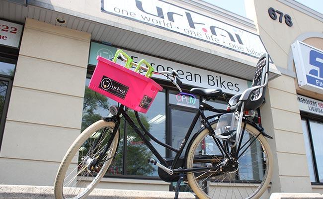 Child-seat-rental-bike