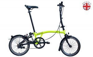 Brompton-Black-Edition-Lime-green-Readymade-in-uk-logo-